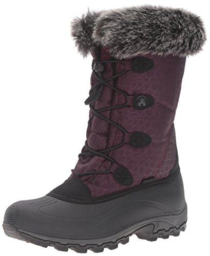 Kamik Women's Momentum Snow Boot, Burgundy, 7 M US
