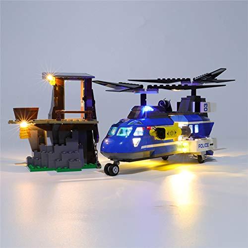 RTMX&kk Conjunto de Luces Lluminación para Arresto en la montaña de la Ciudad Modelo de Bloques de Construcción, Kit de Luces Compatible con Lego 60173 (Modelo Lego no Incluido)