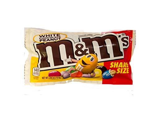 M&M´s White Peanut Chocolate Sharing Size (79,4g)