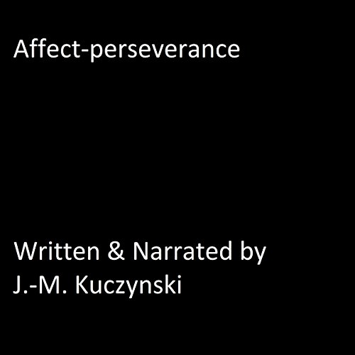 Affect Perseverance audiobook cover art
