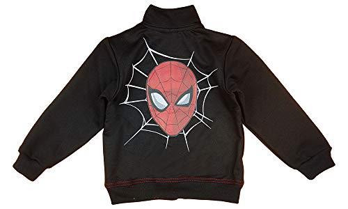 Jungen Langarm-Pulli-Pullover Reißverschluss-Jacke Spiderman Superheld Größe 104 110 116 122 128 134 140 für 3 4 5 6 7 8 9 10 Jahre Baumwolle Kleidung Geschenk (140, Modell 2)