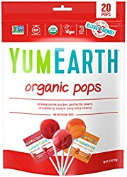 Yum Earth Organic Lollipops 20+, 119 g,4.3 ounce (pack of 1),00098815