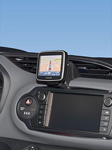 KUDA 5785 Halterung Kunstleder schwarz für Toyota Yaris (XP13) ab 2014 (Facelift)