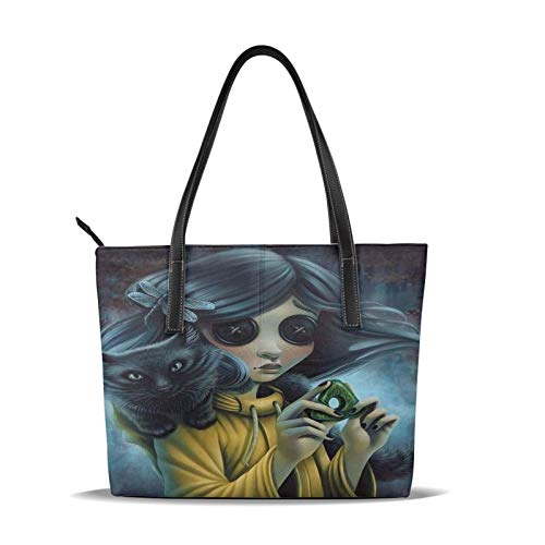 Coralin-e Women'S Leather Tote Shoulder Bags Handbags