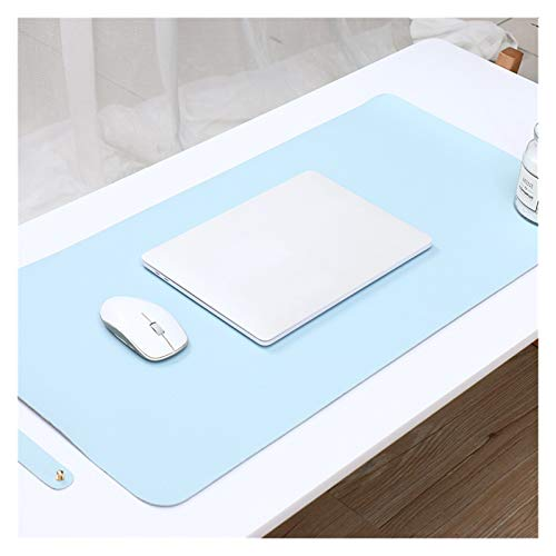 Duradero 1 Unids Oficina Tamaño Big Mouse Pad Mesa Mesa Ratón Color Sólido Ratón Ratón Mouse Cuaderno Portero Impermeable Mater Hermoso (Colore : Light Blue)