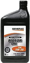 Generac Full Synthetic Motor Oil 5W-30 SN Quart Bottle Part# 0J5140 (qt)