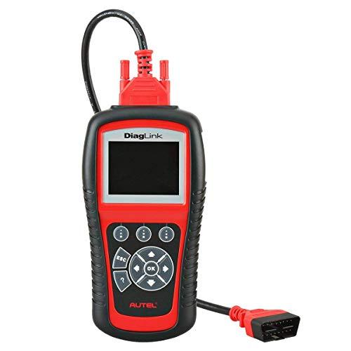 Autel Diaglink OBD2 Diagnosegerät Fehlerleser, DIY-Version des MD802, alle Systeme/ Module Diagnose für ABS, SRS, Motor, Getriebe Epb, Öl Reset