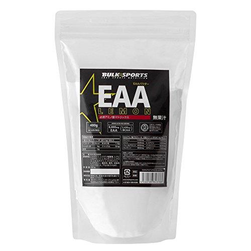 バルクスポーツ アミノ酸 EAAパウダー 480g レモン【必須アミノ酸】