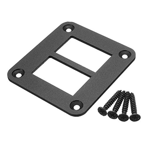 LiCHANGZHU LCBIAO 2 3 4 5 Soporte de la Carcasa del Panel del Interruptor de Aluminio del rockero de Aluminio para los interruptores de rockero de Tipo Bote de Carling (Color : 2Way)
