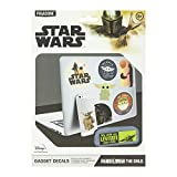 Paladone PP7339MAN The Mandalorian Baby Yoda Gadget calcomanías – Producto oficial de Disney Star Wars