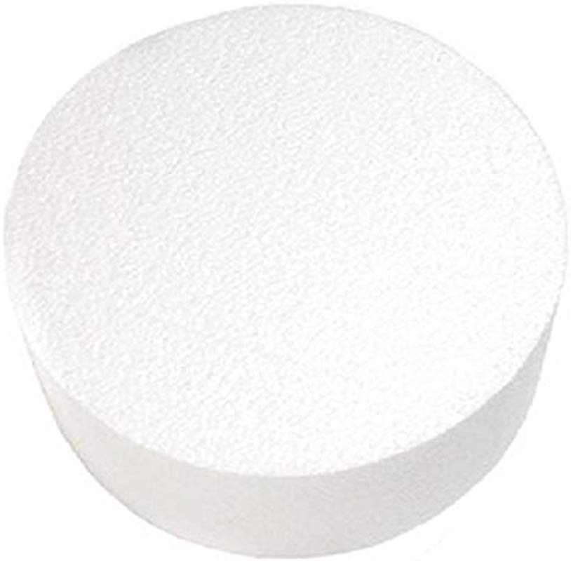 Oasis Supply 747054 Dummy Round Cake 4 X 4 White