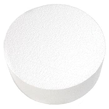 Oasis Supply Dummy Round Cake 16  x 5  White
