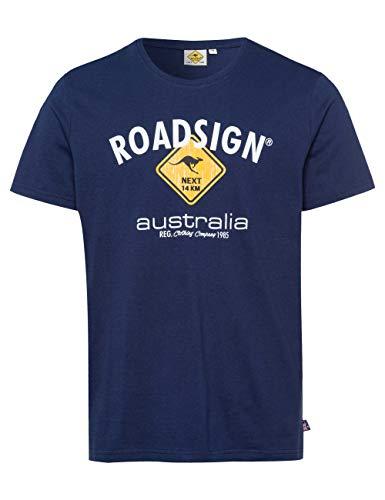 ROADSIGN Australia Herren T-Shirt mit Australien-Motiv Navy | XXL