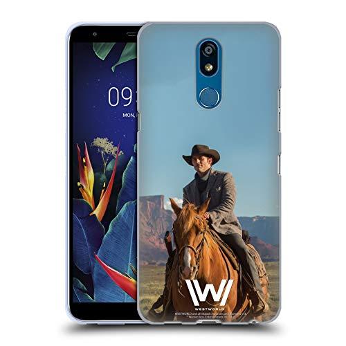Head Case Designs Offizielle Westworld Teddy Flood Darsteller Soft Gel Handyhülle Hülle Huelle kompatibel mit LG K40 / K12 Plus
