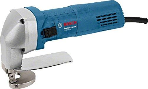 Bosch Professional 0601500500 Metall-Schere GSC 75-16 elektrisch inklusiv Messer, 750 Watt, geeignet für Stahl bis 400 N/mm² bei 1,6 mm in Karton, W, 230 V