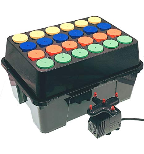 Aeroponic Cloner Machine 24 Site for Cuttings Rooting Using 2 inch Neoprene Inserts or 2 inch Clone Collars