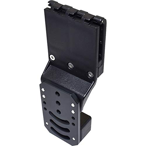 Black Scorpion Outdoor Gear IPSC, USPSA Pro Competition Belt Attachment, Adjustable in All Angles and Retention, Legal in USPSA Production Division