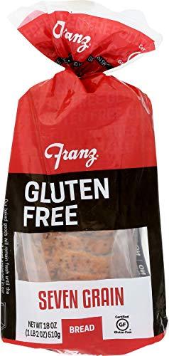 Franz Bakery, Bread 7 Grain Gluten free, 18 Ounce