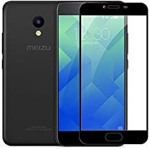 Phone Screen Protectors - for Meizu M6 note M6s mblu S6 full Cover Tempered Glass Screen Protector for Meizu M5c M5 c Meilan A5 32GB 16GB 64GB Glass film (white color for Meizu M6S)