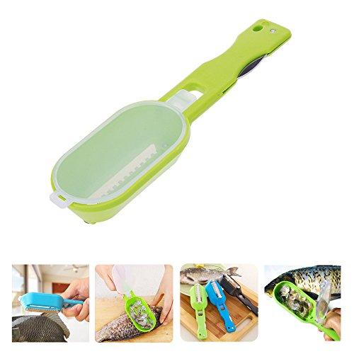 quickcor (TM) nouvelle pratique Accessoires cuisine gadgets écailleur à poisson échelle grattoir de Décapsuleur de nettoyage pour Grattage poisson de cuisson Outils