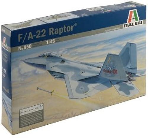 Felices compras Italeri - - - I850 - Maquette - Aviation - F-22 Raptor - Echelle 1 48 by Italeri  Centro comercial profesional integrado en línea.