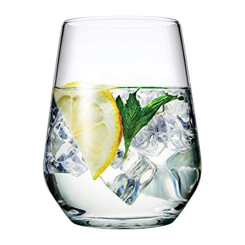 Pasabahce Allegra Juego de 6 vasos para vino, jugo, agua, whisky 425 ml