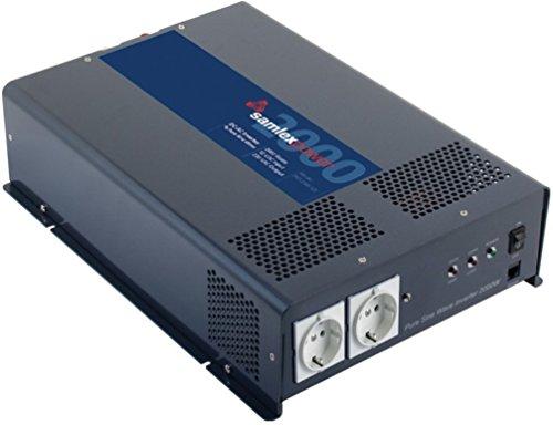 Samlex PST-200S-12E PTS Series Pure Sine Wave DC-AC Power Inverter, 12 Volts, 2000W Continuous Power Output, 4000W Surge Power Output, 230VAC Output Voltage, Low Battery Voltage Alarm
