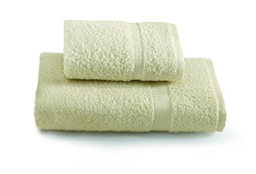 Gabel - Juego Toallas para Invitados, Color Liso, 100% algodón, 3,3 x 27 x 36 cm