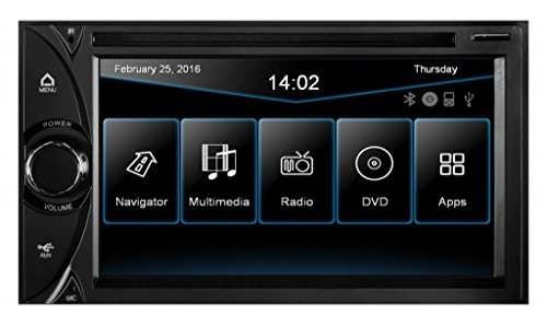 ESX Navigation 2-DIN Autoradio VNC620D inkl. Truck & Camper Navigationssoftware