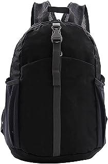 Dengyujiaasj Backpack, Outdoor Foldaway Travel Backpack Sports Ultralight Raincoat Bag 25L Large Capacity Handle Bag for H...