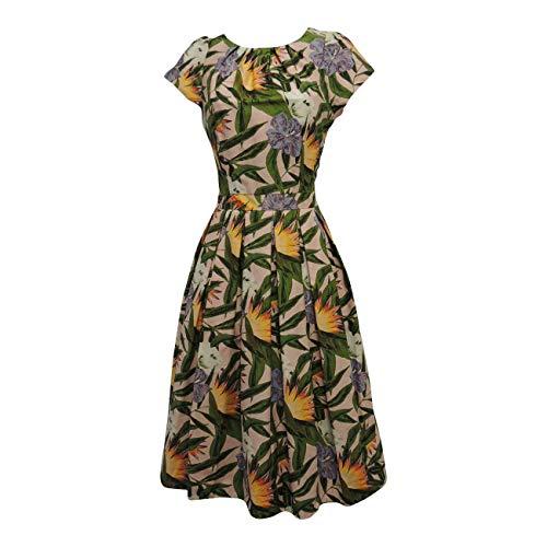 Neuf Taille Unique Noir Viva-la-Rosa Guerre Mondiale II Noir B/éret Style Classique // Vintage Des Ann/ées 40