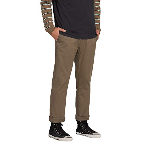 Volcom Men's Frickin Modern Fit Stretch Chino Pant,...