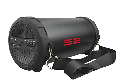 S2-Digital S-Tube S Outdoor Bluetooth Lautsprecher mit FM Radio