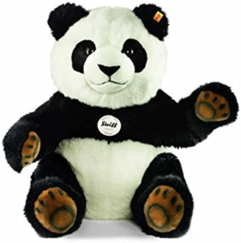 estar en gran demanda Steiff Steiff Steiff 45cm Pummy panda (negro  blanco) by Steiff  El ultimo 2018
