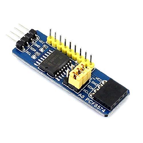 Kongnijiwa Module PCF8574 IO Erweiterungsplatine 8Bit Parallel Expander I2C-Bus Auswertungs-Entwicklungs-Modul