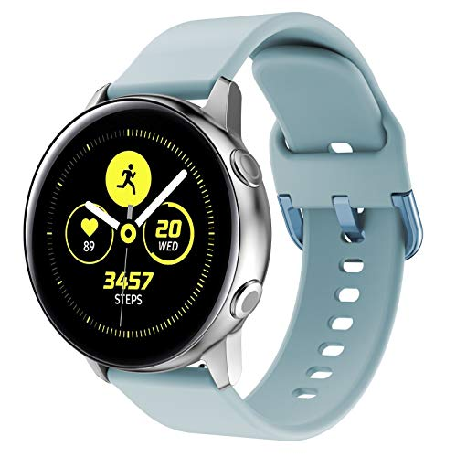 SUPORE Cinturino Galaxy Watch Active 40mm, Cinturini di Ricambio per Polso Silicone 20mm con Sgancio Rapido per Active 2 / Gear S2 Classic/Gear Sport/Huawei Watch 2