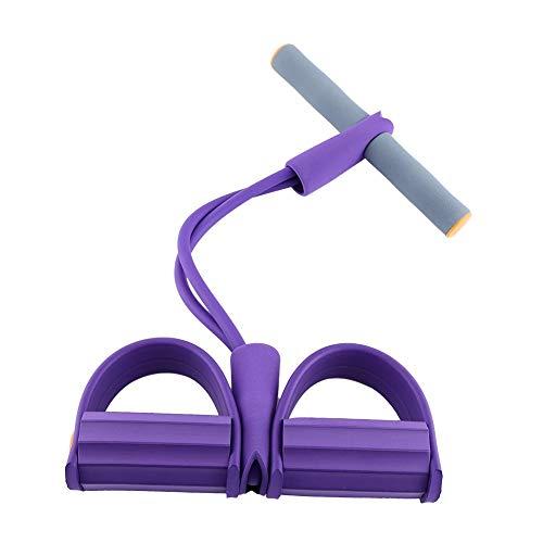 VOANZO Entraîneur Sit-up Abdominal de Remise en Forme d'abdominal de tireur de pédale, Corde de Traction de Latex