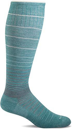 Sockwell Kompressionsstrümpfe für Damen mit abgestuften Zirkulatoren, Mineral, Größe S/M