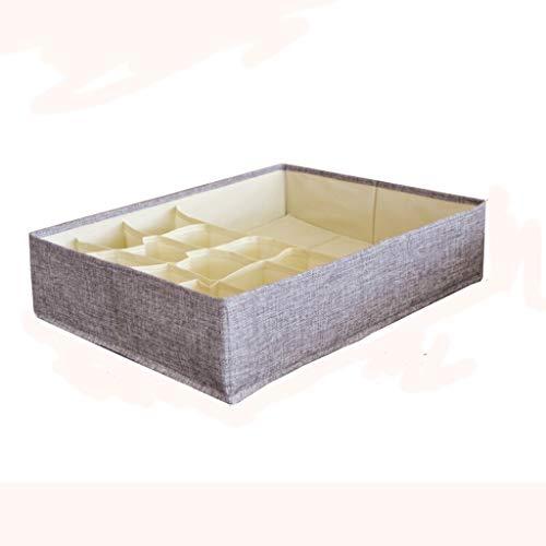 Tie Box Chambre Maison Multi-usages Vêtements tiroirs Voyage de Stockage Boîte de Finition Grande capacité de Pliage Boîte de Rangement (Color : S)