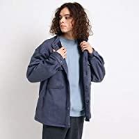 [ ザショップティーケー ] カジュアルシャツ ボンディングスウェードシャツ 61659650 メンズ ネイビー(093) 03(L)