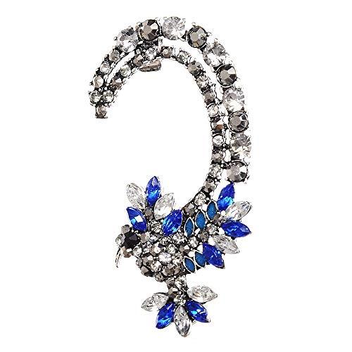 Moda cristal águila clip...
