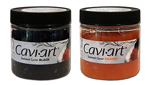 Cavi-Art - Vegan Seaweed Caviar - 2-Flavor Combo Pack