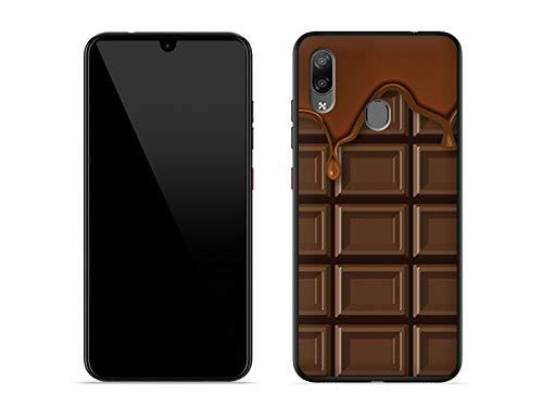 etuo Hülle für ZTE Blade V10 Vita - Hülle Fantastic Hülle - Schokolade Handyhülle Schutzhülle Etui Hülle Cover Tasche für Handy