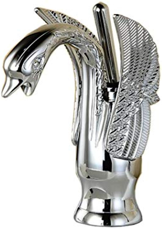 DYR Wasserhahn Alle Bronze Wasserhahn Badezimmer führenden Becken führend Retro Swan führen