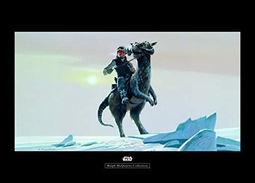 Komar Wandbild Star Wars Classic RMQ Hoth Tauntaun | Kinderzimmer, Jugendzimmer, Dekoration, Kunstdruck | ohne Rahmen | WB149-70x50 | Größe: 70 x 50 cm (Breite x Höhe)
