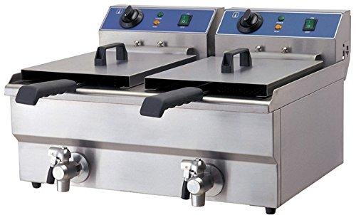 Doppel-Friteuse, Elektro, 570x460x325 mm,