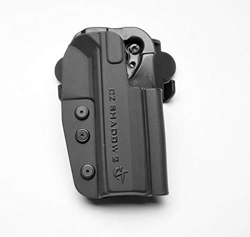 COMP-TAC.COM International Holster CZ - Shadow 2 - Right - Black (Belt, Paddle, Drop Offset)