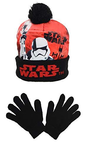 Star Wars - Set de Gorro y Guantes Disney- RH4315 para niño...