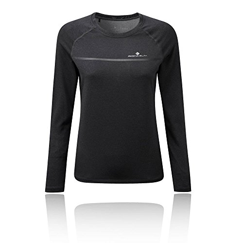 Ronhill RH-002769 T-Shirt de Course Femme, Charcoal/Marl, FR (Taille Fabricant : XL)