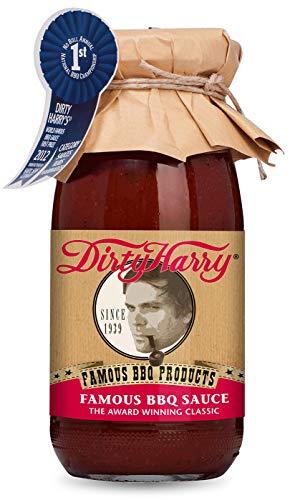 Dirty Harry Famous BBQ Sauce (250ml) von Münchner Kindl Senf - Bio Vegetarisch Vegan Glutenfrei Laktosefrei ohne Zusatzstoffe